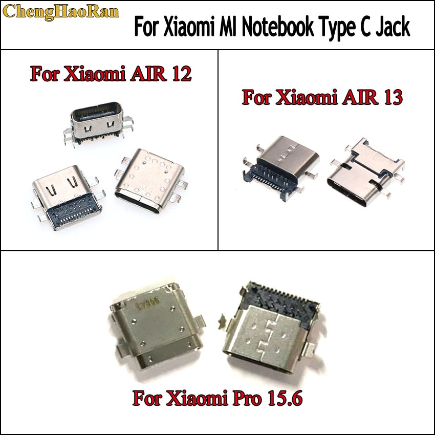 ChengHaoRan 2 шт. для Xiaomi notebook mi air 13/12 161301-01 161201-01 15,6 pro разъем для зарядки usb type-c