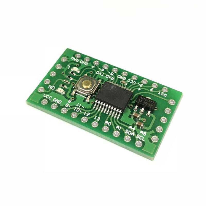 1 Uds 5V LGT8F328P SSOP20 MiniEVB en lugar de Pro Mini ATMEGA328P Y1AE