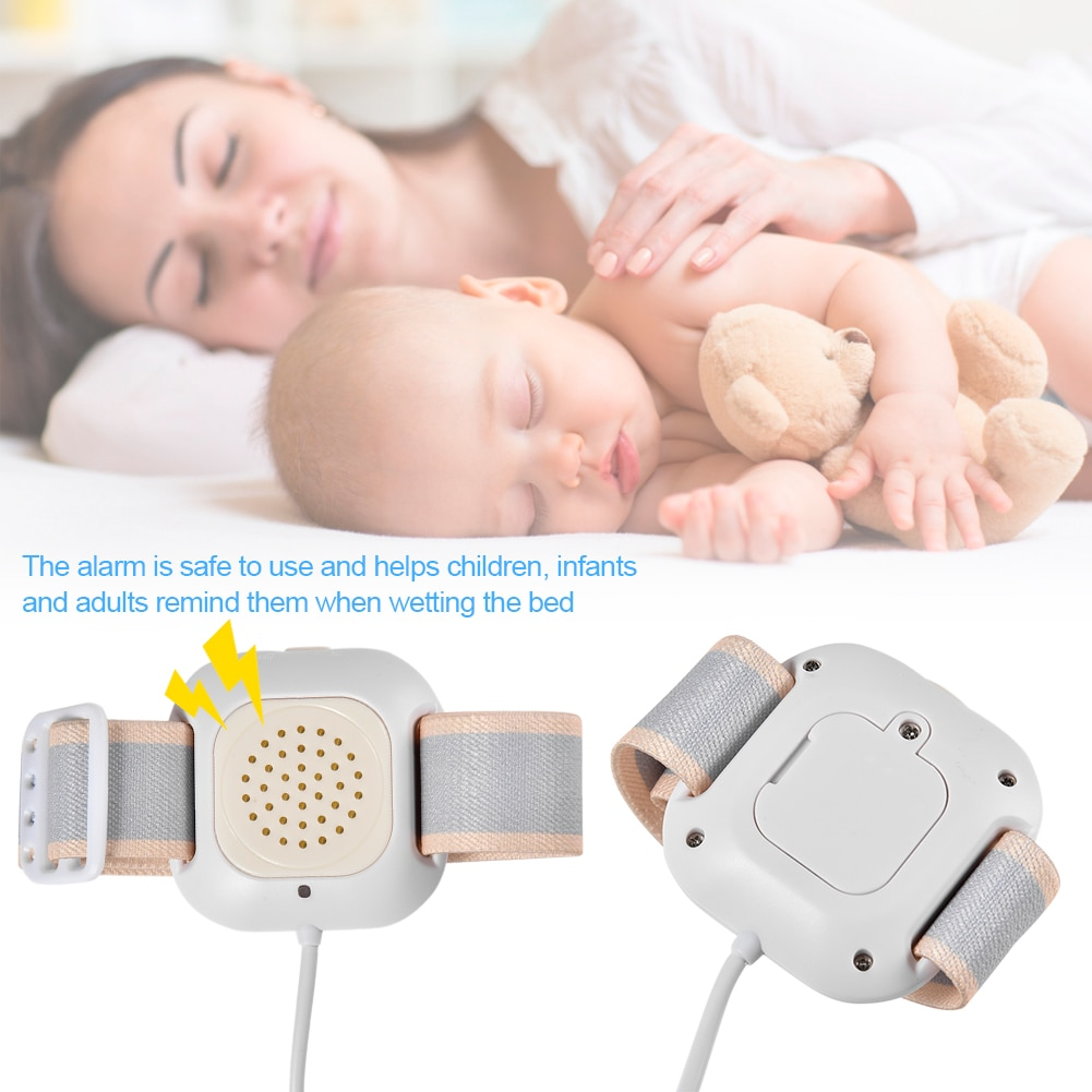 Hot Sell Bedwetting Alarm High Sensitivity Of Wet Convenient Professional Arm Wear Baby Wetting Alarm Baby Kids Potty Training