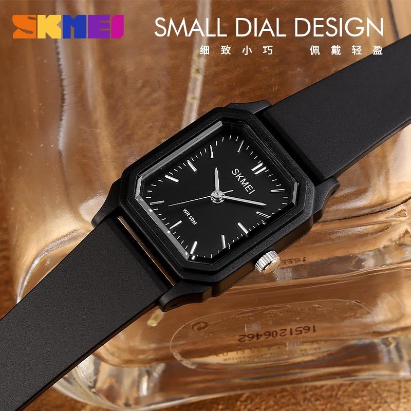 SKMEI Japan Movement Fashion Girl Quartz Wristwatches Female 2020 Luxury Brand PU Strap Waterproof 50M Small Ladies Watches 1651 enlarge