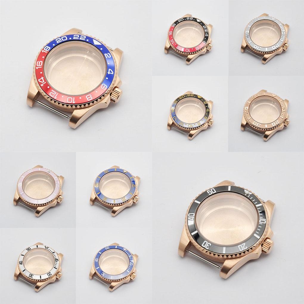 Capa de Vidro Transparente para Celular Capa com 40mm de Vidro Safira para Eta2836 Mingzhu Miyota8205 8215 821a Motion Nh35 Nh36 Dg2813 3804