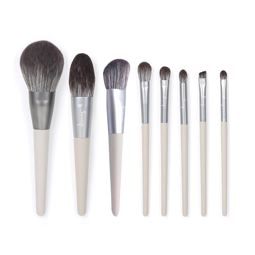 Suntop Makeup Brushes Set 8PCS/lot Nylon Hair Cosmetics Tool Professional Make up Powder Foundation