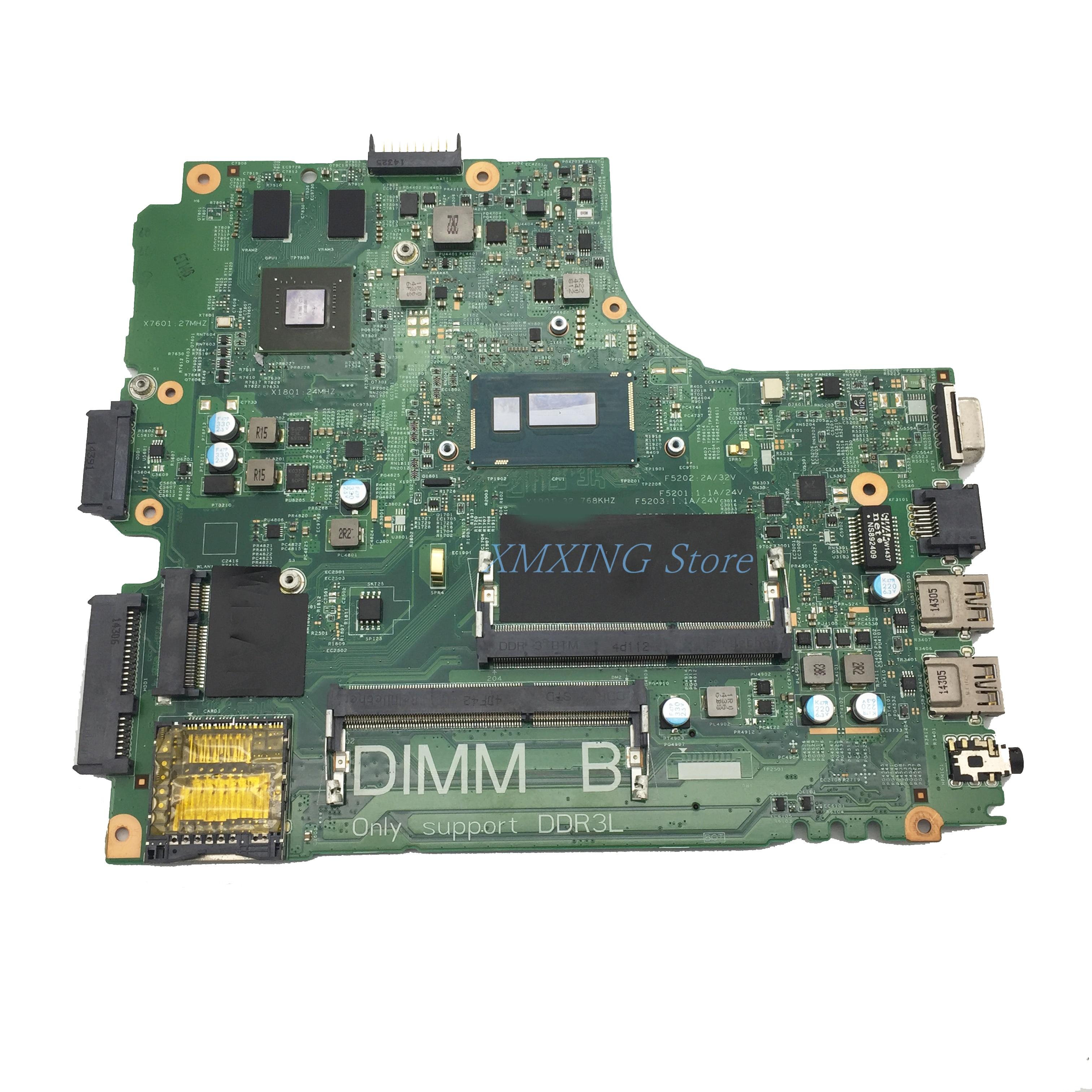 FULCOL لديل خط العرض 3437 اللوحة المحمول I3-4010U CPU 12314-1 CN-0G9PCH 0G9PCH G9PCH اختبار 100% العمل