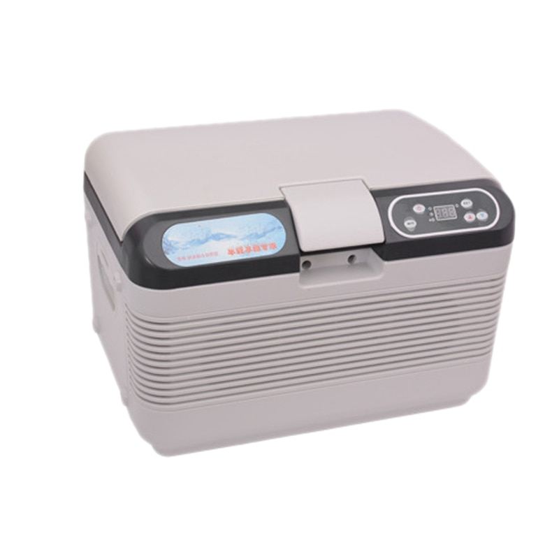 Refrigerador de coche DC 12V/24V, Mini compresor 12L, refrigerador de coche para el hogar, caja de refrigerador Central de viaje, caja electrónica Incuba