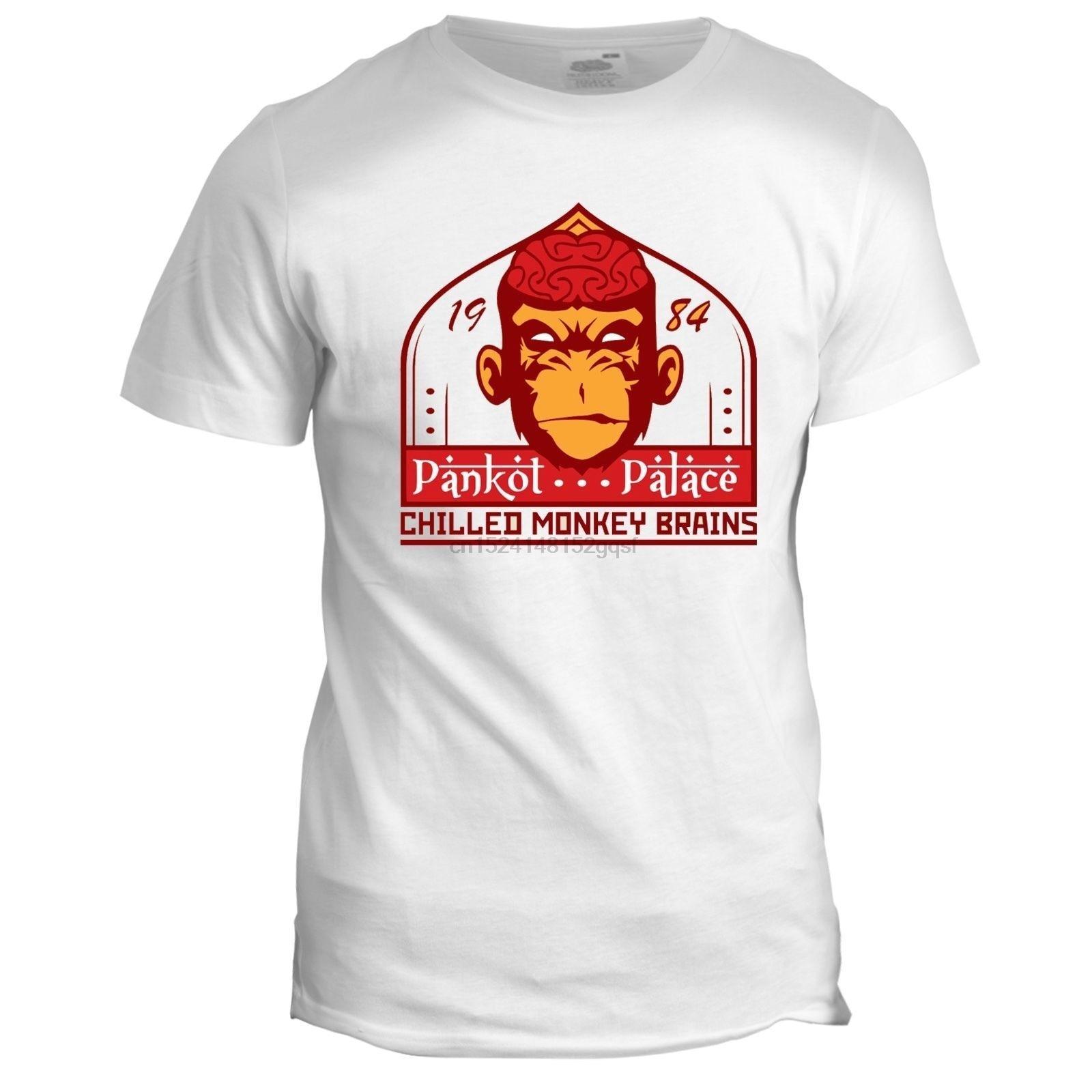 Chilled Monkey Brains Inspired Indiana Jones Movie Film 80s 90s T Shirt