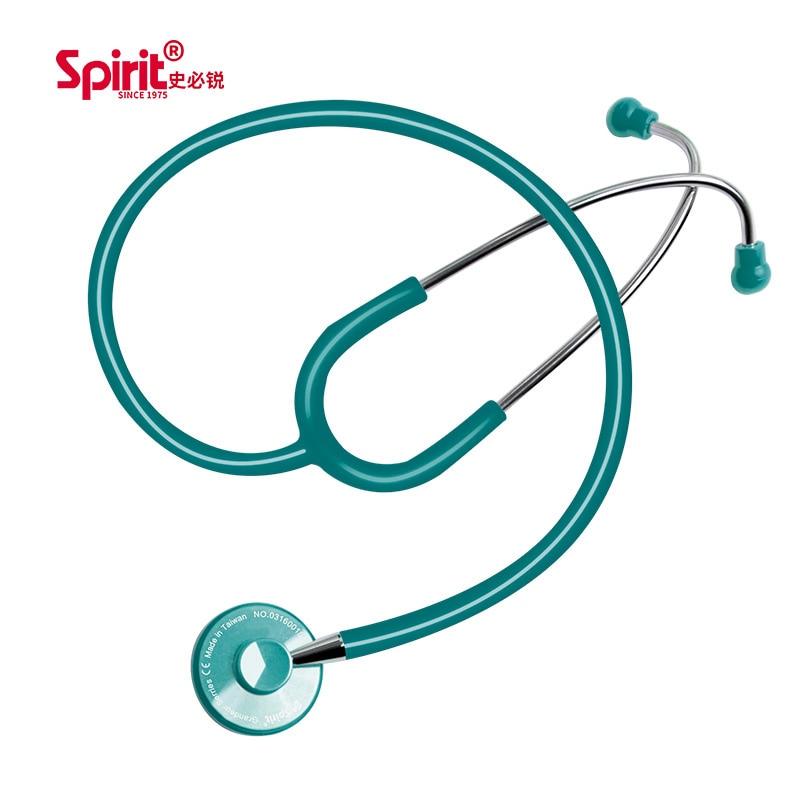 الروح الطبية المهنية من جانب واحد السماعة خفيفة الوزن اليد السمع ضغط الدم الجنين القلب السماعة