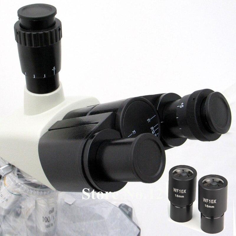رأس ثلاثي العينيات مفصلية مجانية للميكروسكوب الحيوي ، مسافة بين 55-75 مللي متر ، مجهر بصري ستيريو ثنائي العينين
