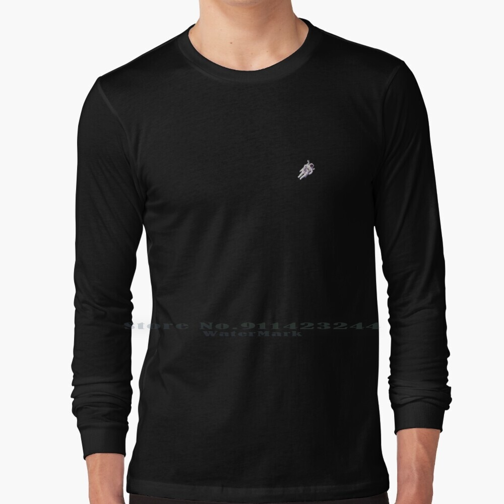 Floating Astronaut Long Sleeve T Shirt Tee Astronaut Astronaught Space Floating Astronaut Space Space Phone Covers Galaxy