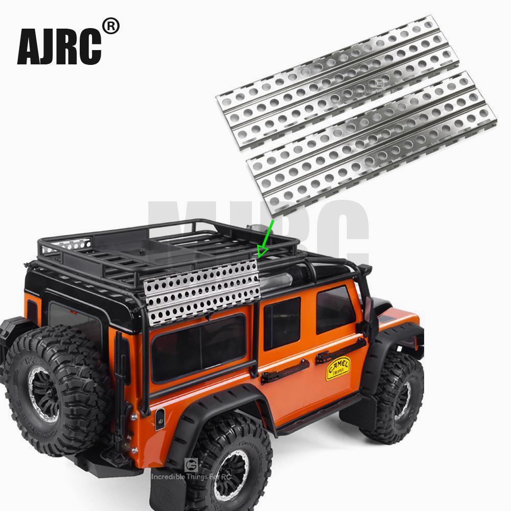 1/10 Rc Tracked Vehicle Traxxas Trx4 g500 trx-6 g63 Bronco Axial Scx10 90046 90047 D90 D110 Escape Board Climbing Car Metal Skid