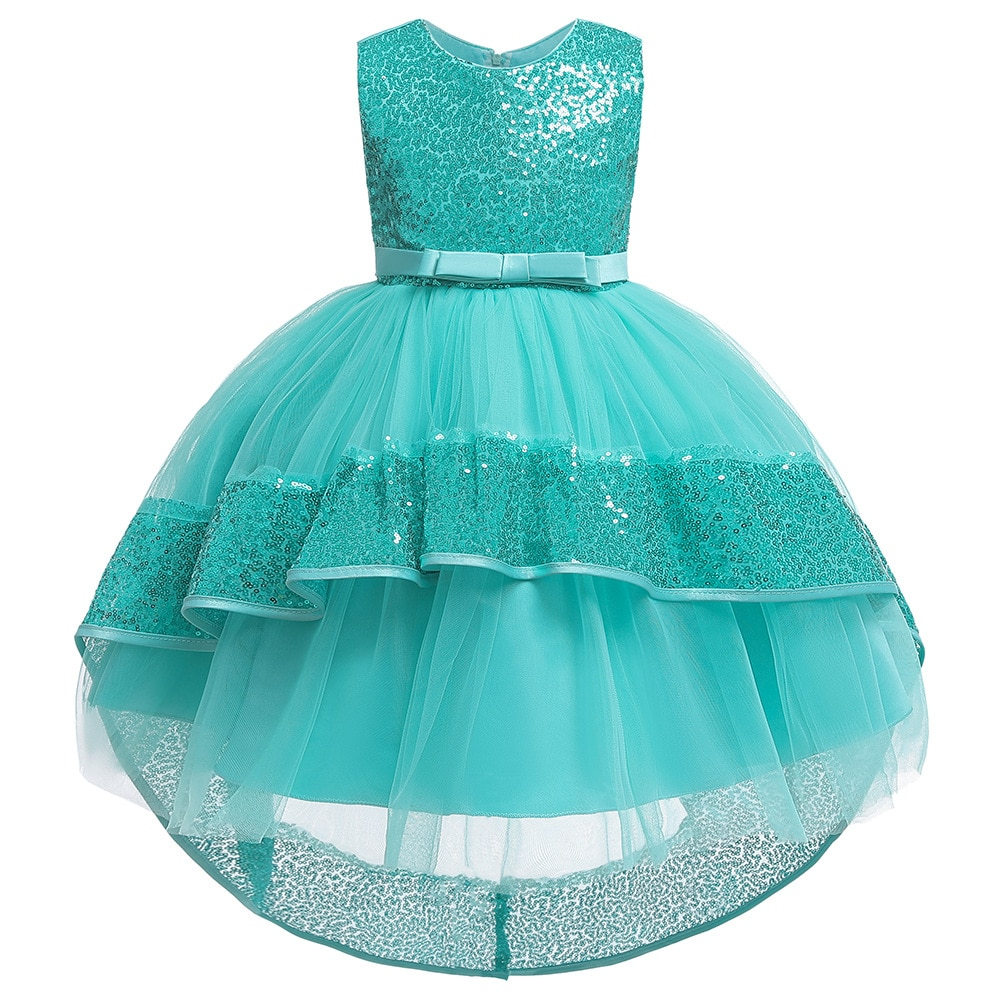 Новогодний костюм Спящей красавицы для девочек платье принцессы рождественское