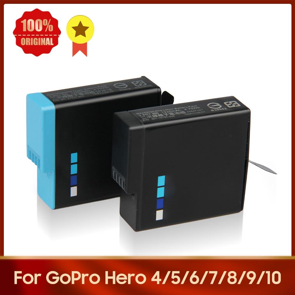 Original Camera Battery SPBL1B 335-06532-000 SPJB1B 601-10197-000 For GoPro Hero 9 Hero 8 Hero 7 Hero 6 Hero 5 Hero 4 AHDBT-401