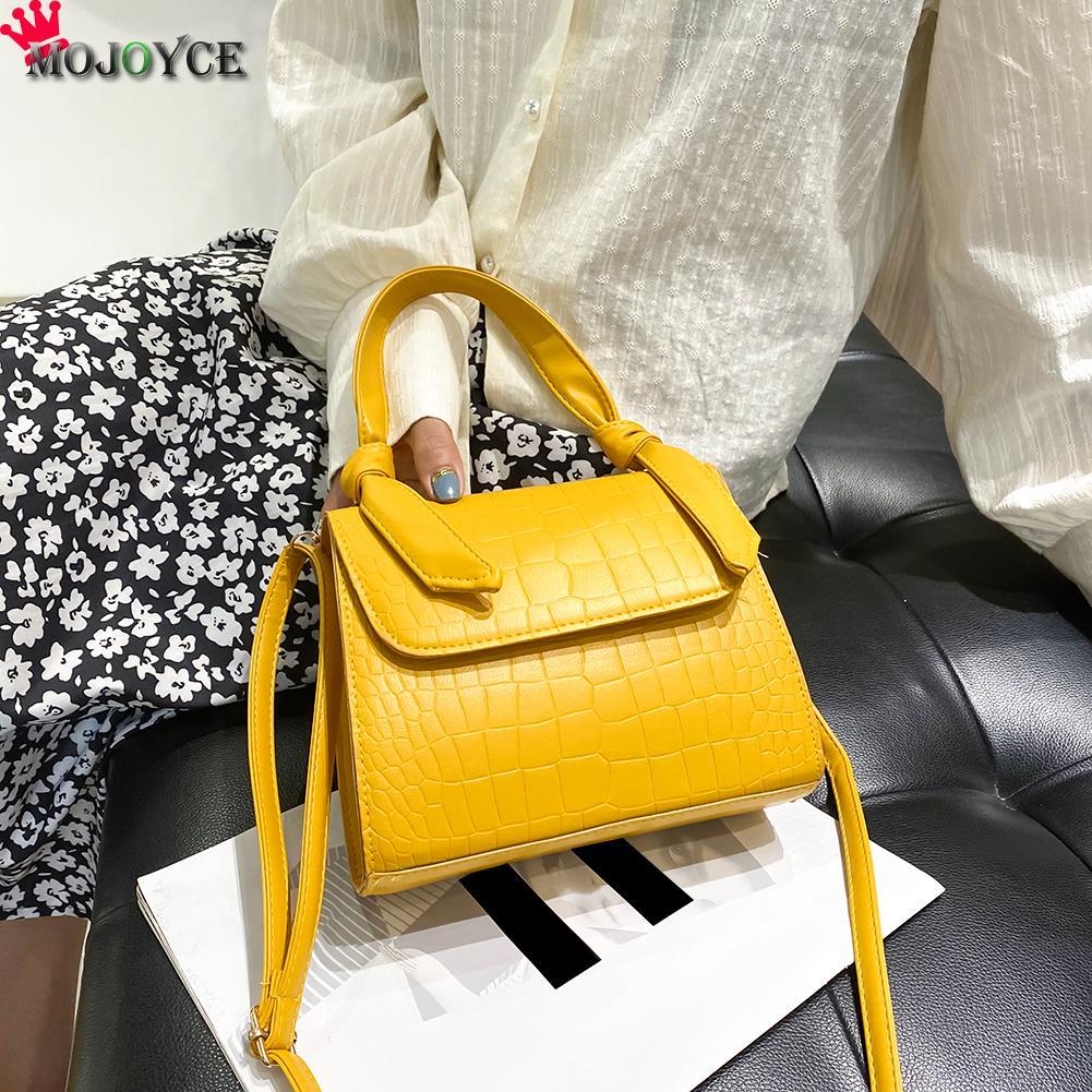 Bolsos de hombro para mujer de PU de Animal de moda, bolsos cruzados de mano de color sólido, regalos multifuncionales para fiestas femeninas