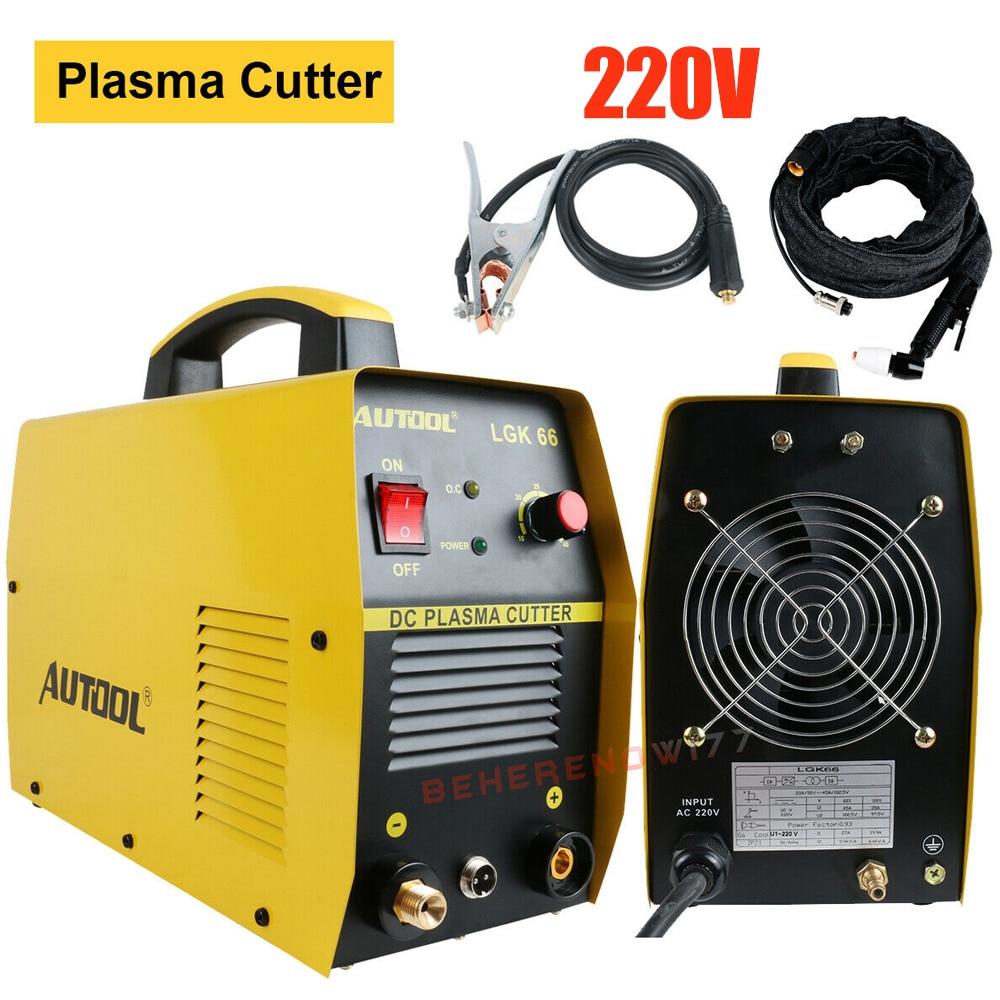 AUTOOL-cortadora de Plasma, Original, inversor CC, 50A, 50Hz, 220V, corte de antorcha, 3 años de garantía, almacén de Rusia
