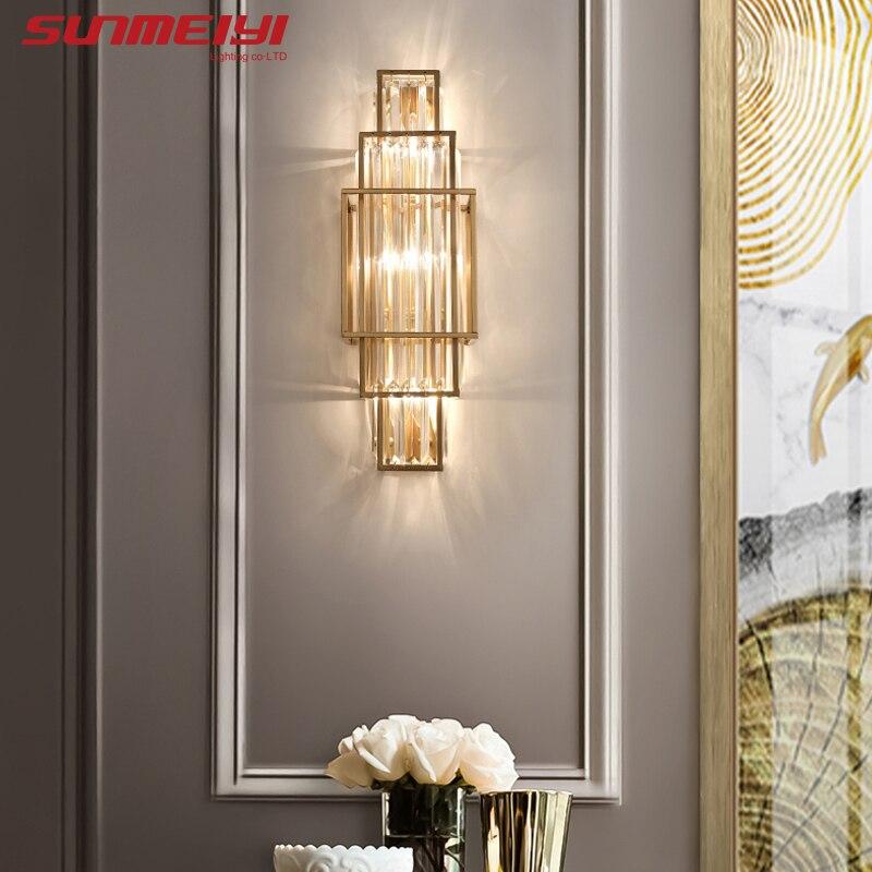 الحديثة مصابيح الحائط Led أضواء لغرفة المعيشة الممر السرير إضاءة غرفة النوم الحمام مصباح المنزل ديكو زين murale intérieur