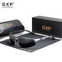 GXP Driving Polarized Men Aluminum Sunglasses Blue Mirror Lens Male UV400 Sun Glasses Aviation Women