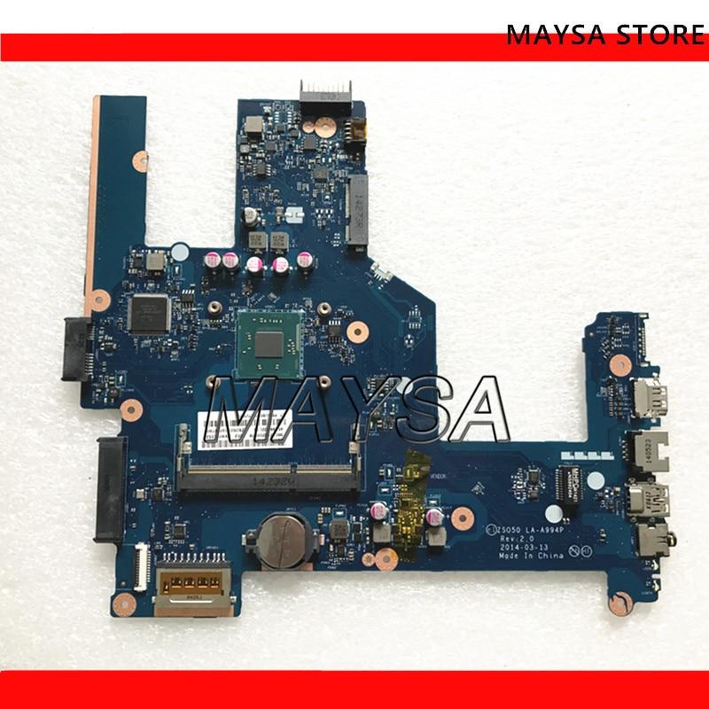 764103-501, 764104-501 apto para HP Compaq 15 15-R 15T-R 15-s placa base de computadora portátil 764103-001 ZS050 LA-A994P 100% probado