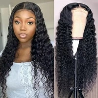 t part lace front wigs deep wave human hair lace front wigs peruvian remy curly wigs pre plucked human hair wigs for women