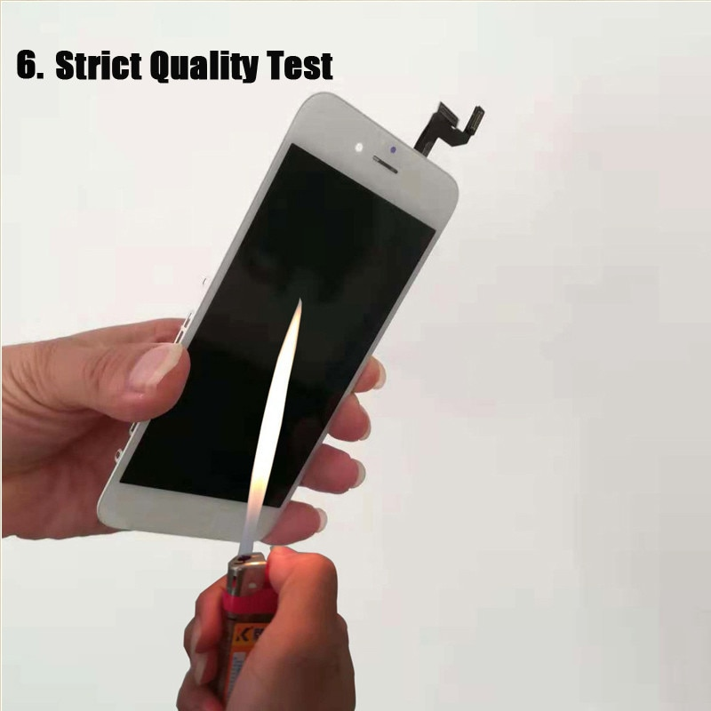 [6 USD GIFT] for iPhone 6 6S LCD Screen Replacement for Apple iPhone6 for iPhone6S Black White on the 6 6S with Repair Tool enlarge