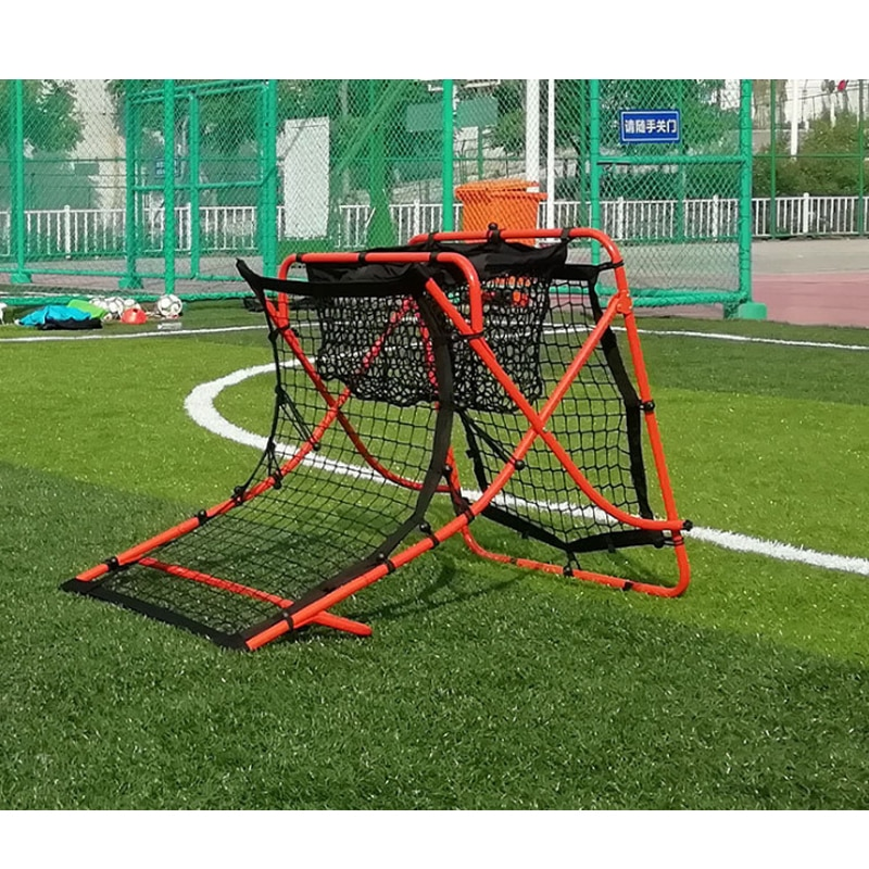 Soccer removable portable rebound door rebound net double-sided pass shot auxiliary training equipment
