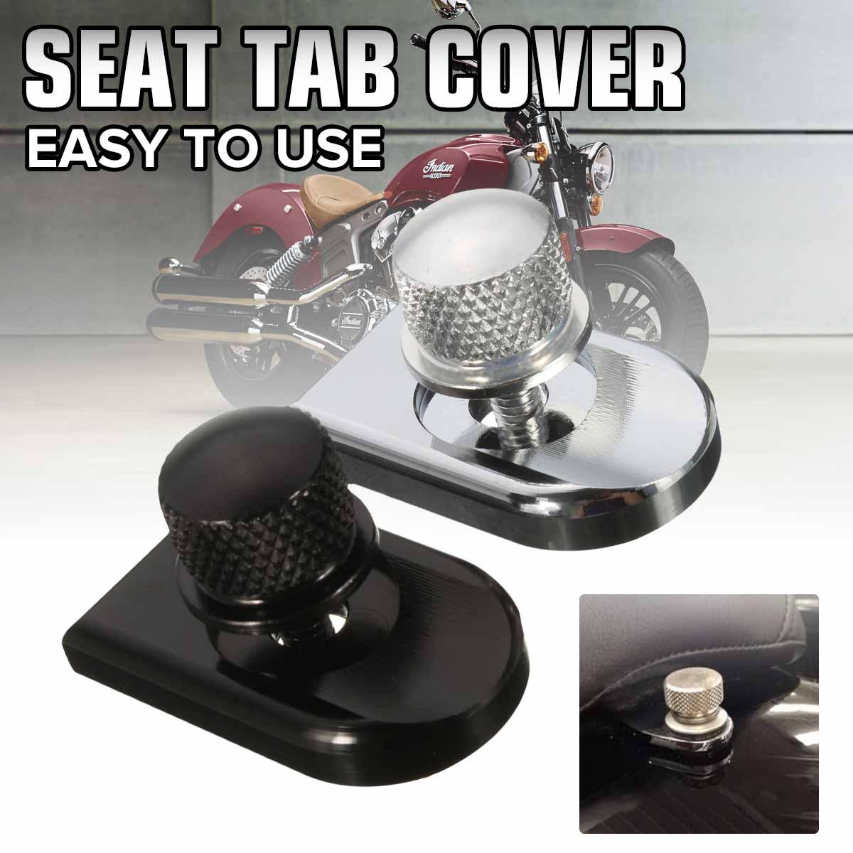 1/4 20 guia parafuso do assento da motocicleta montar botão capa para harley sportster dyna fatboy estrada rei softail Molduras ornamentais e capas    -