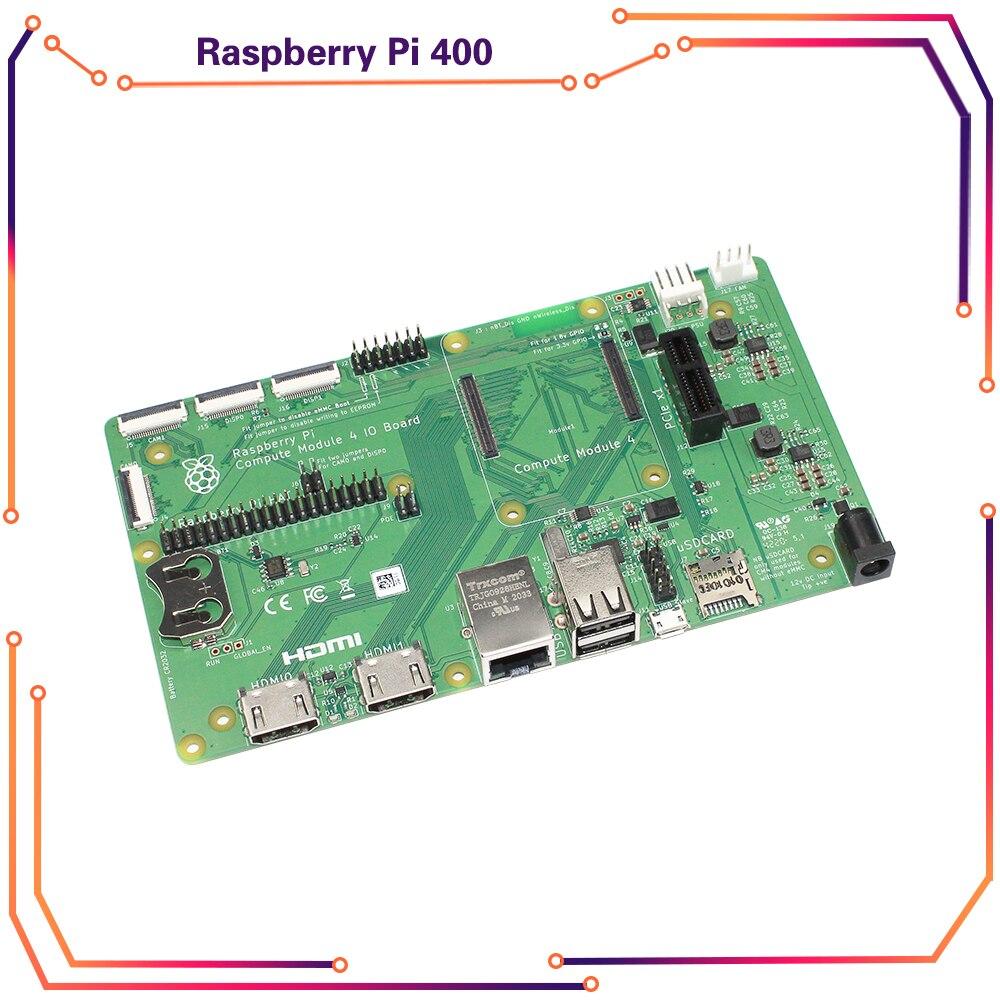 Raspberry Pi Compute Module 4 IO Board, BCM2711, a Development Platform for CM4