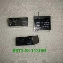 10pcs/lot Relay BRT3-SS-112DM 115F-1A-6P-12V
