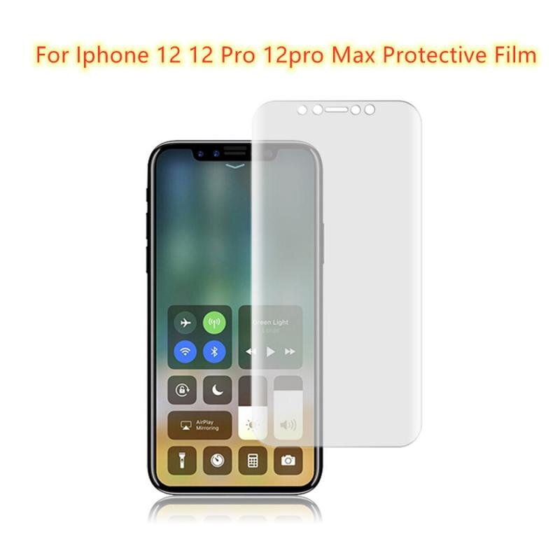 For IPhone 12 Full Screen Water Curing Film Scratchproof Protective Film 12mini 12Pro 12Pro Max Prot