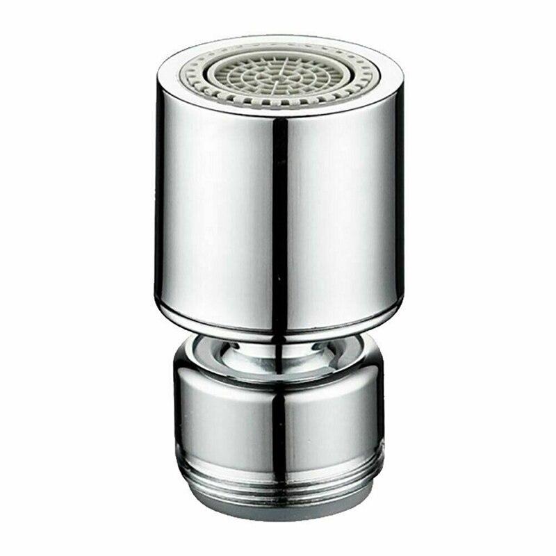 Universal Splash-Proof Swivel Water Saving Faucet Kitchen Tap Hole Water Tap Nozzle Sprayer Splash-Proof Bathroom Fixture