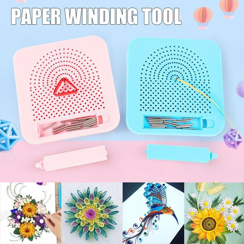 Tablero de papel acolchado hecho a mano cuadrícula Guía para la fabricación de papel plegable para manualidades con papel enrollador rollo cuadrado artesanía herramienta de bricolaje