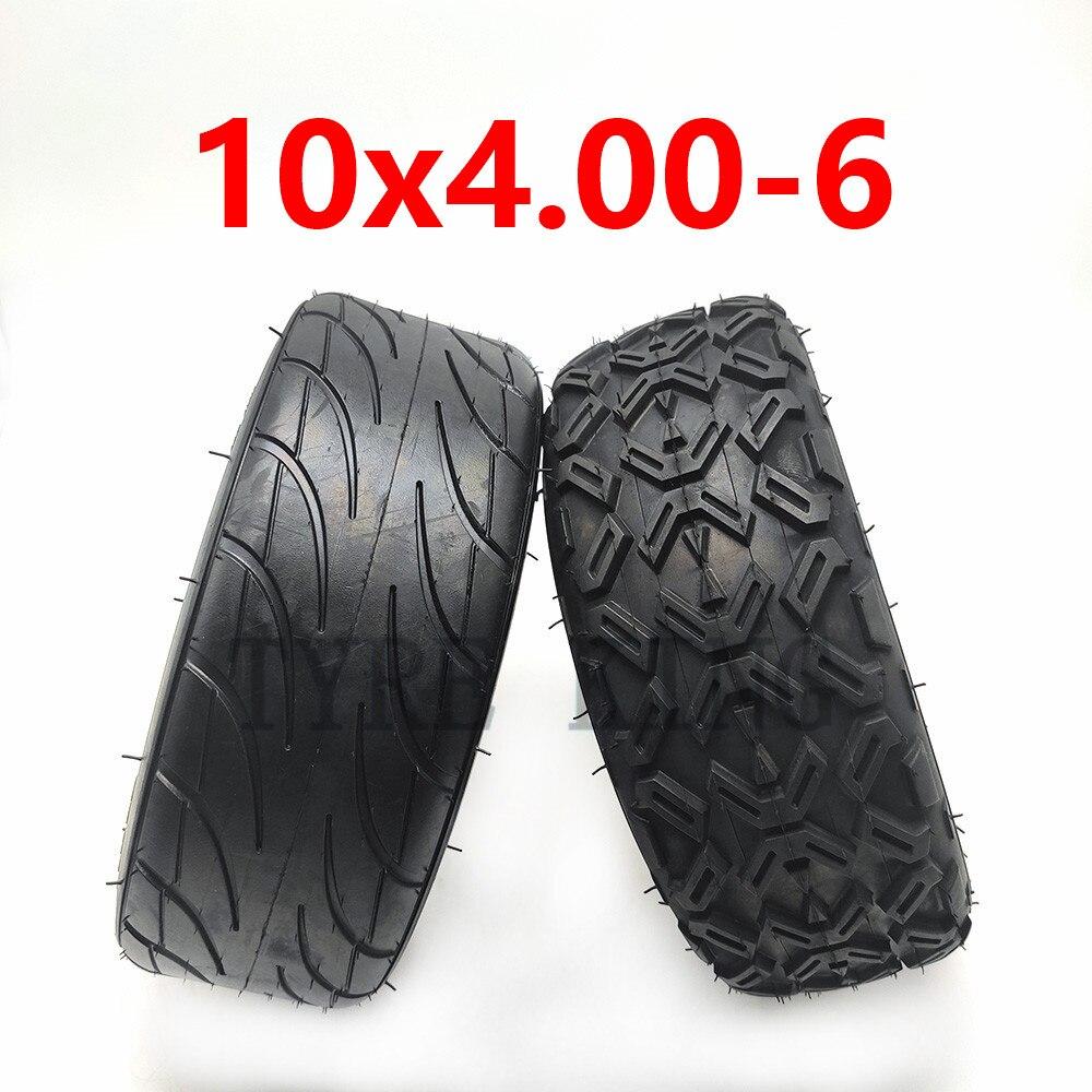 Upgrade 10X 4,00-6 10*4,00-6 Vakuum Reifen Tubeless Reifen für Harley Elektrische Citycoco Roller Gehen karts ATV Quad Bike OFF-Road