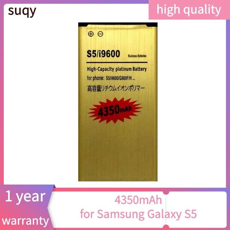 Suqy para galaxy s5 bateria para samsung s5 g900s g900f g900m g9008v 9006v 9008w 9006w g900fd bateria EB-BG900BBU móvel