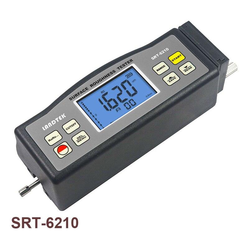 اختبار خشونة السطح SRT-6210 مع Ra ، Rz ، Rq ، Rt المعلمات المدمج في الماس دبوس التحقيق