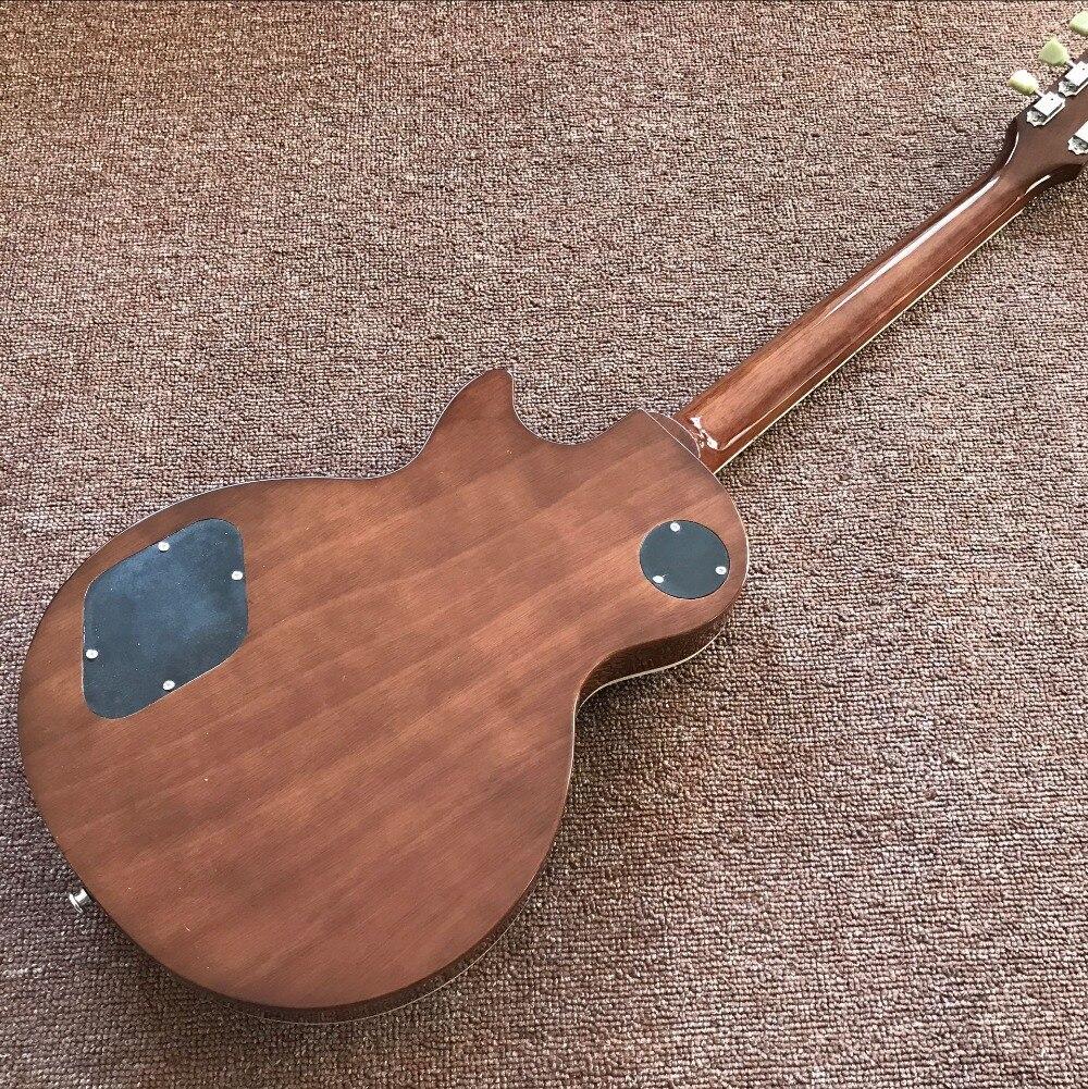 New standard Custom .Green color electric guitar Standard  59 gitaar,mahogany body guitarra.handmade 6 stings guitar. enlarge