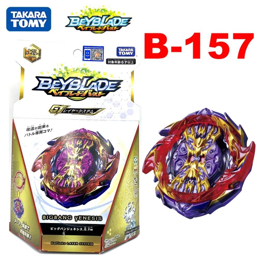 Original TAKARA TOMY BEYBLADE explosion GT B-157 BIG BANG Genesis 0.Ym con la caja original