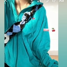Hooded Sunscreen Hoodie Coat 2021 Thin Summer Loose Leisure Long Sleeve Student Fashion