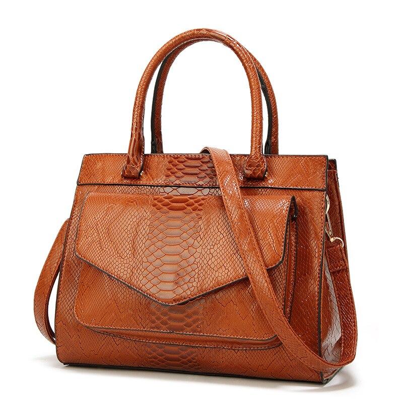 حقيبة يد جلدية نسائية على شكل ثعبان ، حقيبة يد ، حقيبة ، حقيبة ، موضة جديدة ، فاخرة