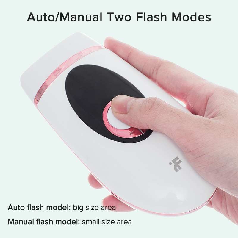 InFace IPL 900000 Flash Permanent IPL Epilator Laser Hair Removal Electric Painless Threading Whole Body Hair Remover enlarge
