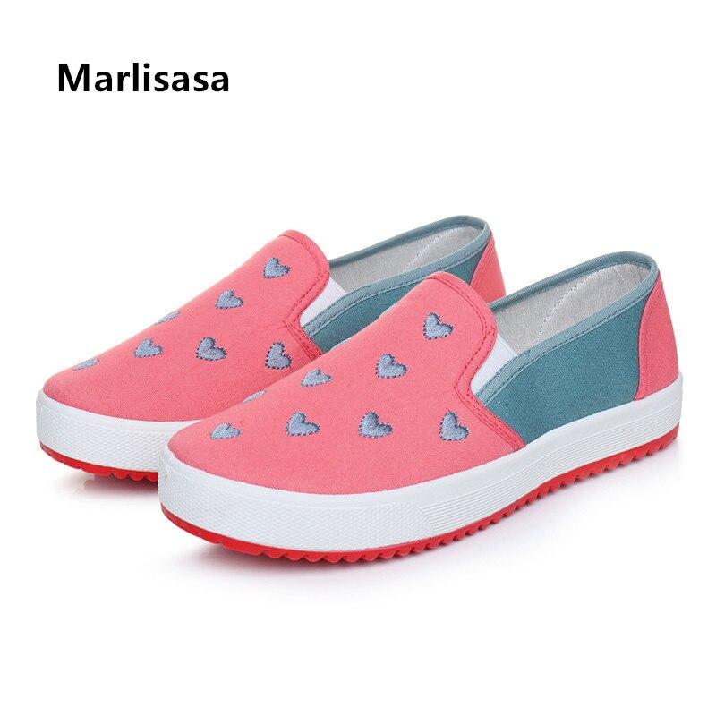 Zapatos de Mujer Dedo do pé Deslizamento em Sapatos Feminino Bonito Redondo Anti Skid Primavera Senhoras Casuais Conforto Verão Sapatos Femininos G5609