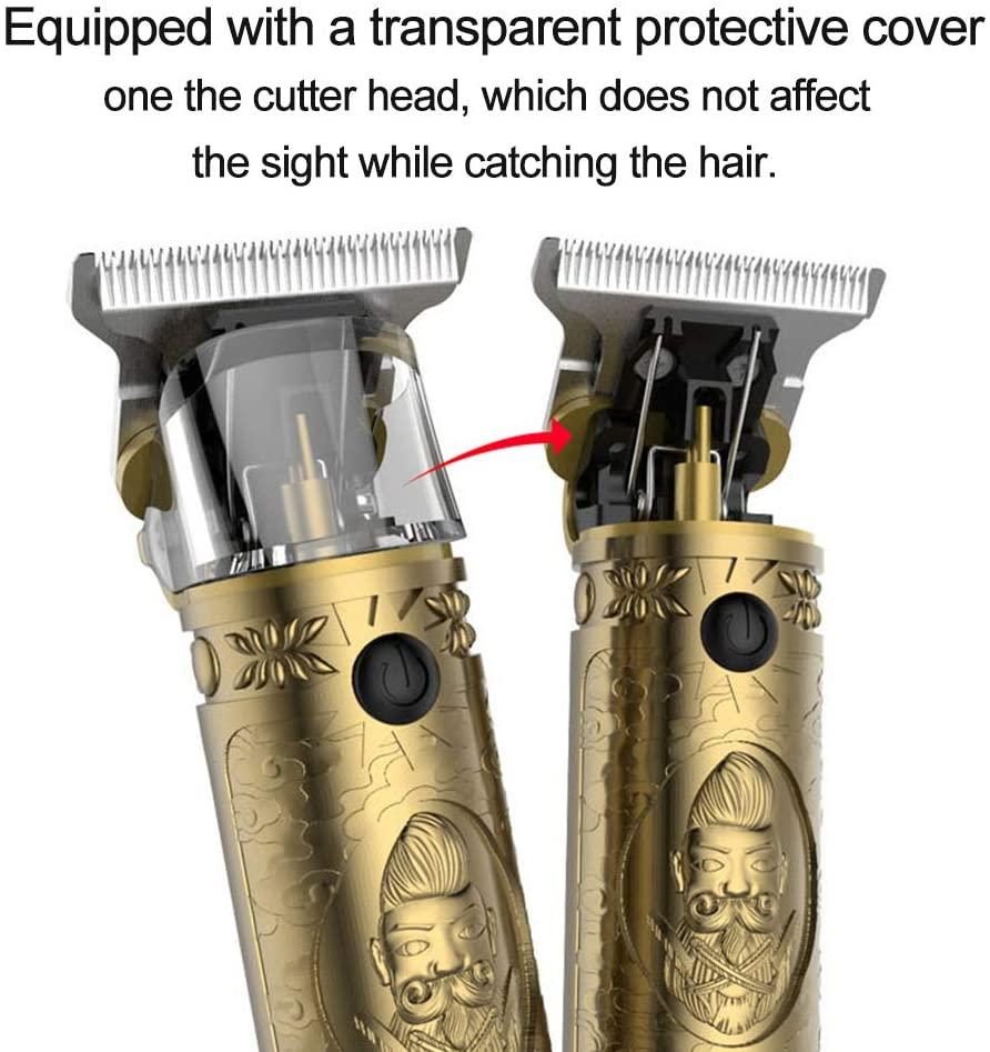 VGR Portable USB T-outliner Pro Li Outliner Trimmer Wireless Hair Clipper 0 Bit Blade Machine Hair Style Electric Men's Trimmer enlarge