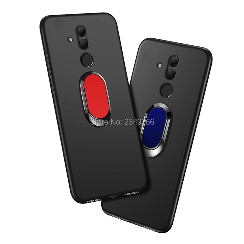 Case for Huawei Mate 20 Lite 4GB 64GB Cover 6.3 inch Soft Black Silicone Cover for Huawei Mate 20 Li