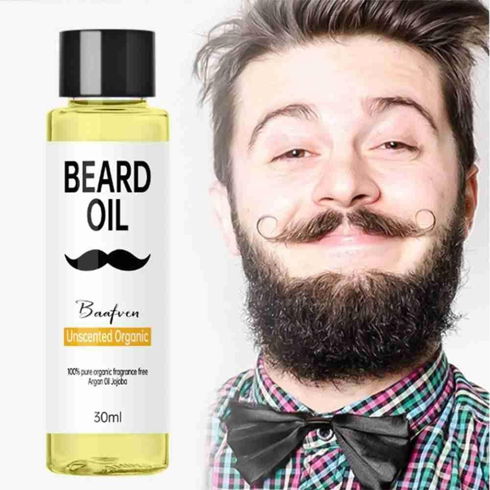 30ML Beard Oil 100% Organic Beard Oil Hair Growth For Beard Growth For Man Moisturizing Smoothing Ca