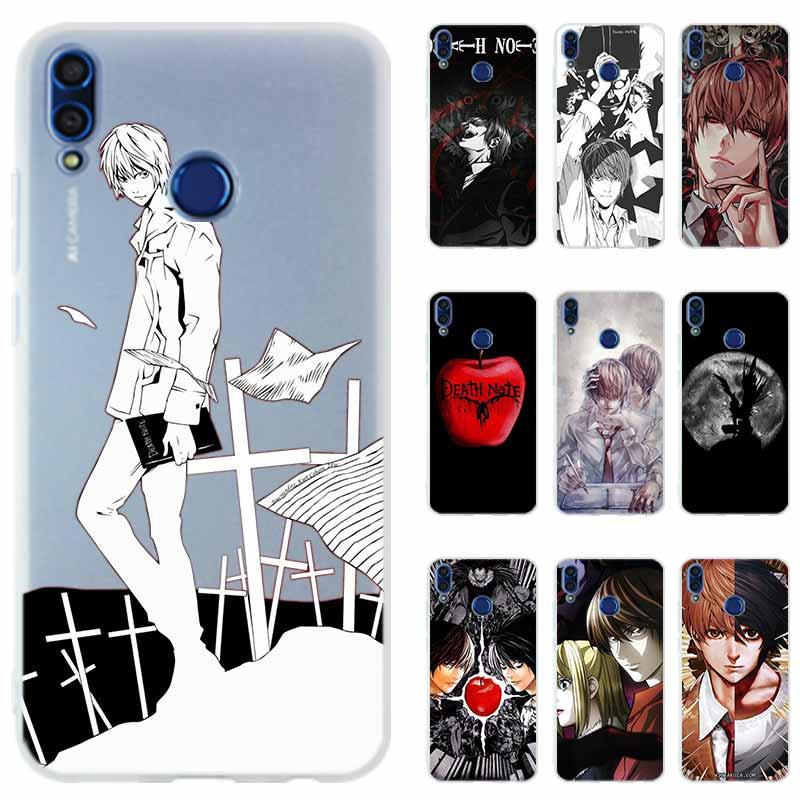 Caso de telefone silicone capa para huawei honor 20 9x 10 9 lite 20 8a 8x max 9a 7x 7a pro 6x jogar nota da morte