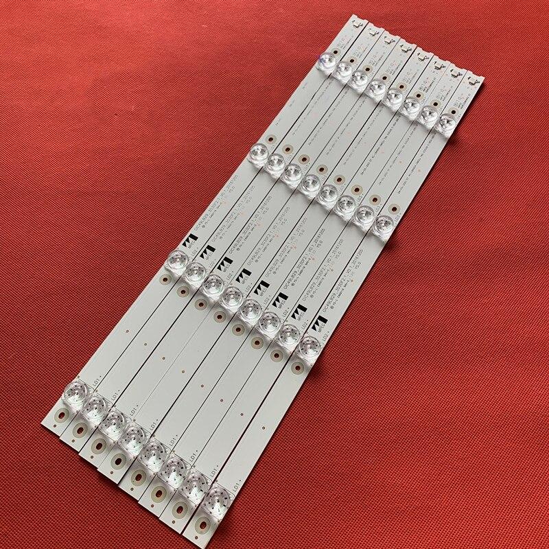 1 الكثير = 8 قطع TCL 49P3 D49A620U B49A81S-UD led الخلفية ل L49P1-UD L49P2-UD 4C-LB4904-HR07J 49HR330M04A2 V3 49P3F 49A950C
