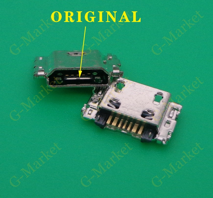 50PCS 7 pin Micro USB jack buchse lade port-anschluss für Samsung Galaxy J3 J5 J7 J1 J100 J330 j330F J530 J530F J730 J730F