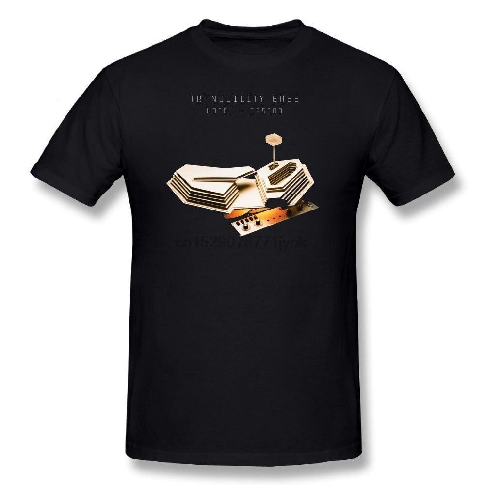 Футболка Arctic Monkeys, спокойная Базовая футболка для отеля, казино, 100 хлопок, Мужская футболка с коротким рукавом, Мужская футболка размера плюс, футболка