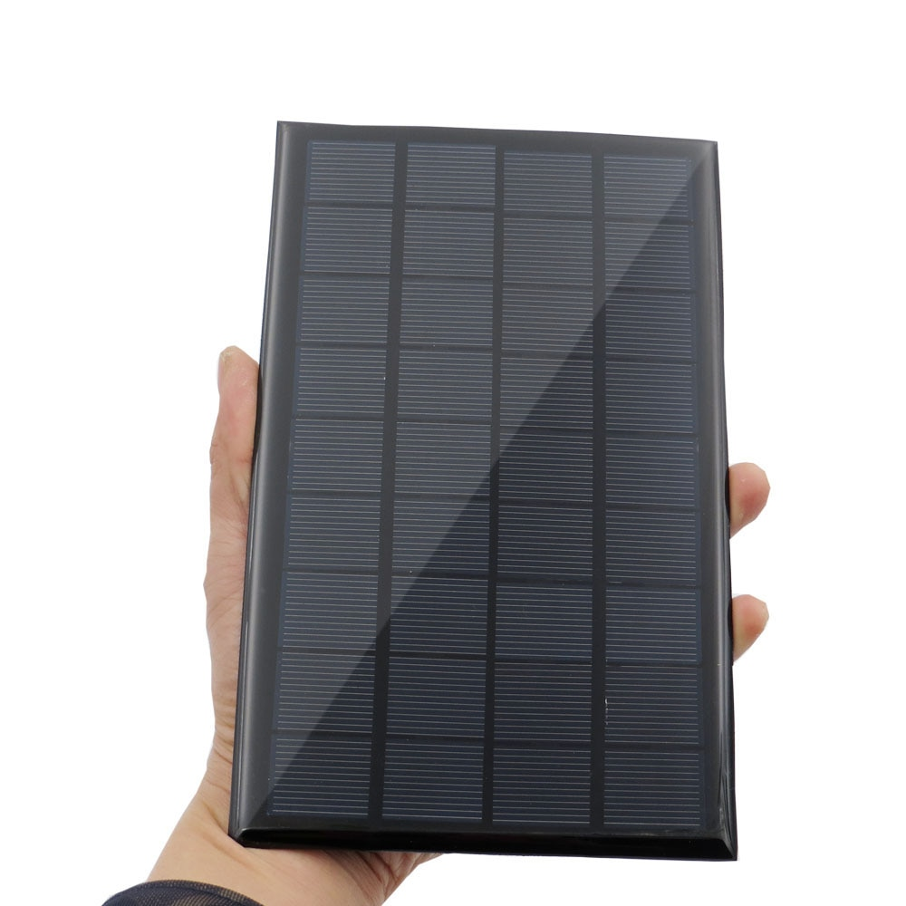 Mini 9V 12V 2W 3W 4.2W Solar Panel Solar Power Panel System DIY Battery Cell Charger Module Portable Panneau Solaire Energy