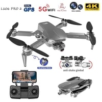 l106 pro 2 gps drone 4k professional hd dual camera brushless foldable quadcopter rc gimbal aerial photography 5g wifi toy
