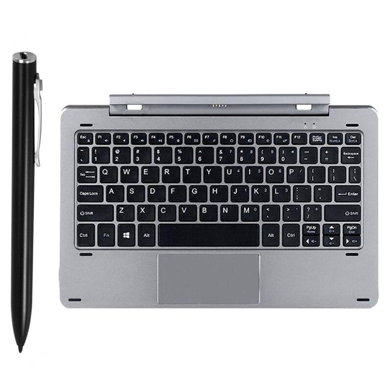 1 Pcs H2 Tablet Press Pen, Handwriting Pen for CHUWI Hi10 Air & 1 Pcs Magnetic Keyboard for CHUWI Hi10 Air/HiBOOK