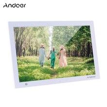 Andoer 15.4 بوصة HD الرقمية إطار صور الإلكترونية ألبوم صور 1080P فيديو مشغل موسيقى مع محس حركة التمرير الترجمة