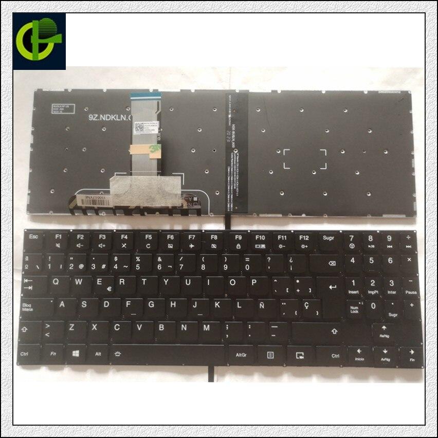 جديد الإسبانية الخلفية لوحة المفاتيح لينوفو فيلق Y520 Y520-15IKB Y720 Y720-15IKB R720 R720-15IKB 15 15IKB 9Z.NDKBN.D01 SP اللاتينية LA